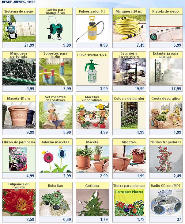 luego barato para la venta varios diseños Lidl: Ofertas de plantas en LIDL a partir del dia 10