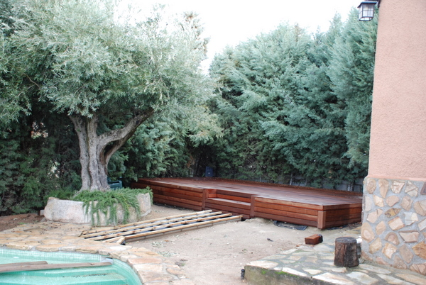 Decorar piscinas con plantas - Grava jardin barata ...