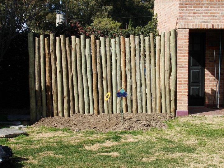 Cerramiento del jard n brezo mallas plantas y otros for Cercados jardin