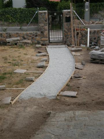 Caminos de jardines - Grava jardin barata ...