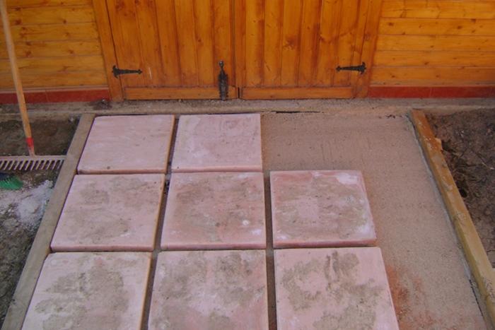 Baldosas para jardin baldosas para paso de jardin foto for Baldosas de jardin