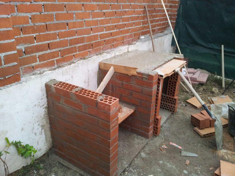 Barbacoas para jard n y terraza - Barbacoas de ladrillo refractario ...