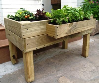 Mesas de cultivo para hortalizas - Drenaje mesa de cultivo ...