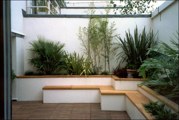 Jardinera de obra y ladrillos c mo construir - Impermeabilizar paredes interiores ...
