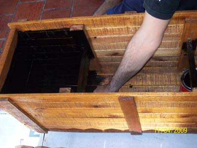 Jardineras de madera y palets c mo realizar una - Como impermeabilizar madera ...