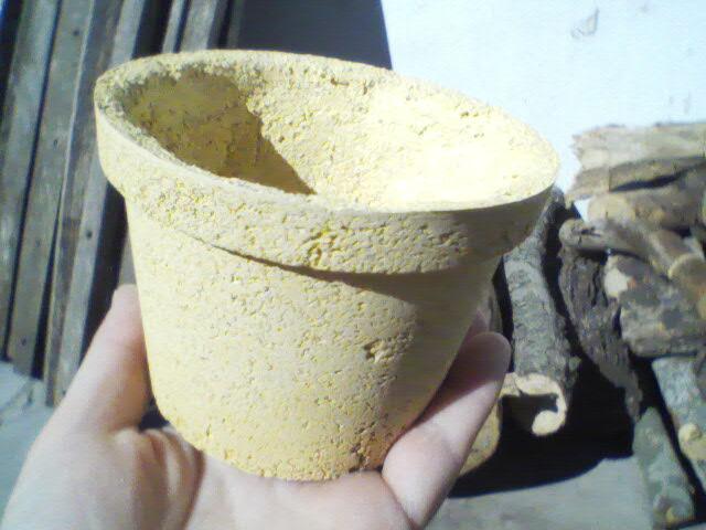 C mo hacer una maceta o macetero de madera de cemento y - Maceteros de obra ...