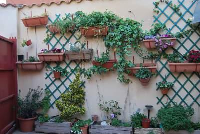 Fotos de patios con plantas - Patios con macetas ...