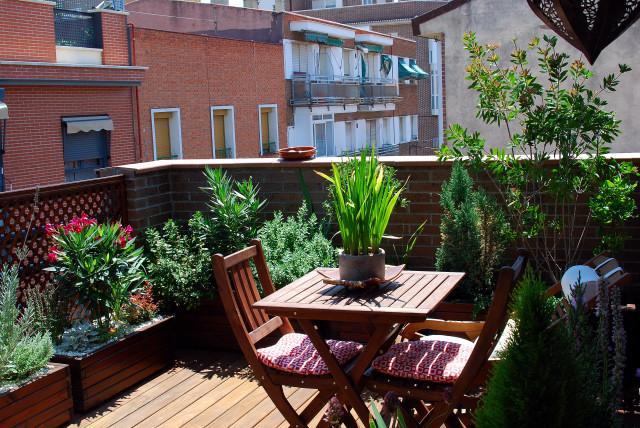 C mo proteger del viento la terraza o balc n for Muro de separacion terraza